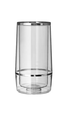 Vinkøler, klar plast